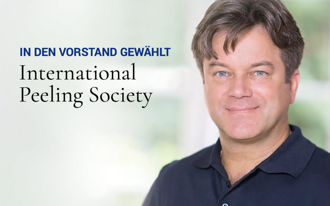 Im Vorstand der International Peeling Society