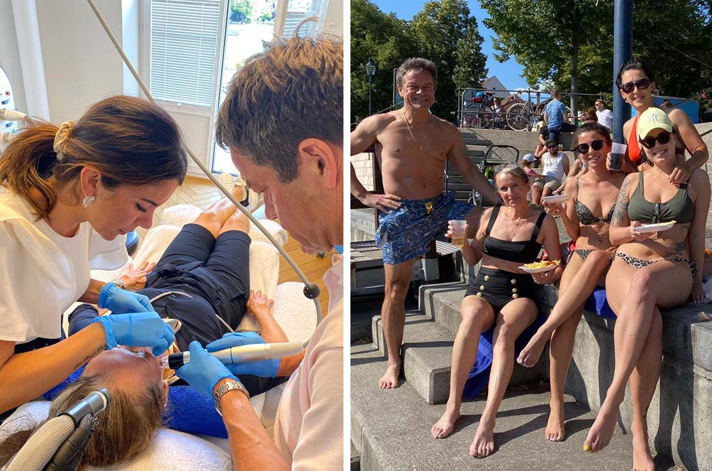 Sommerliche Fortbildung mit Rheinvergnügen